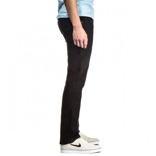 CCS Banks Slim Straight Fit Jeans - Black - 36 - 34