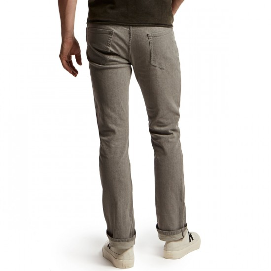 CCS Banks Straight Fit Jeans - Light Grey - 28 - 30