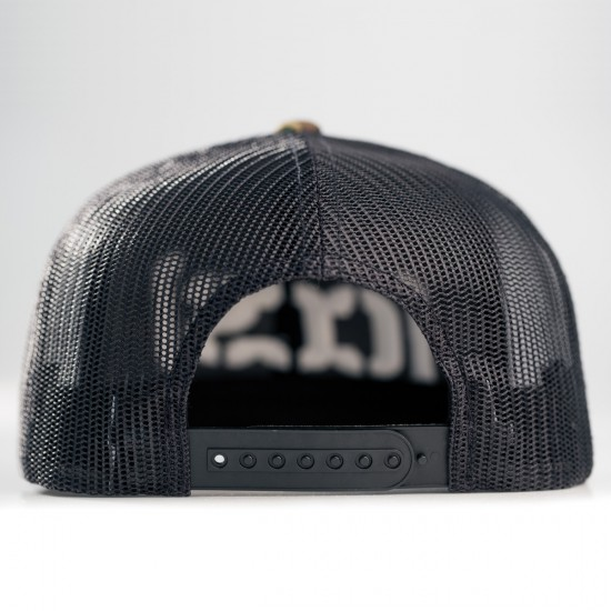 CCS Bracket Trucker Hat - Black/Black