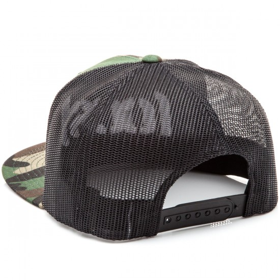 CCS Bracket Trucker Hat - Camo/Black