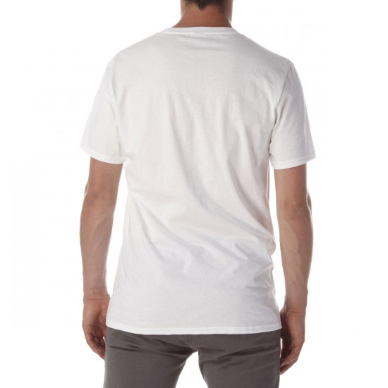 CCS Nested T-Shirt - White/Red