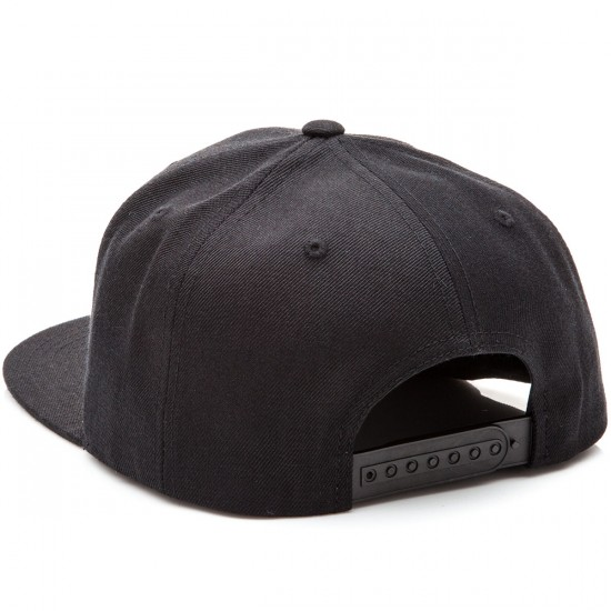 CCS Radar Snapback Hat - Black
