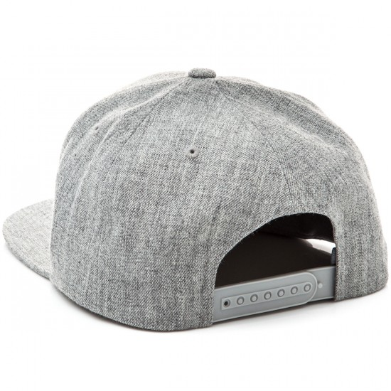 CCS Radar Snapback Hat - Heather Grey