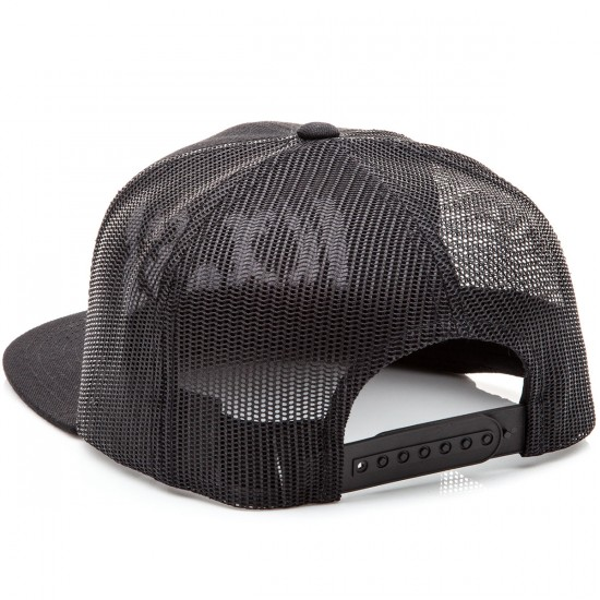 CCS Radar Trucker Hat - Black/Black