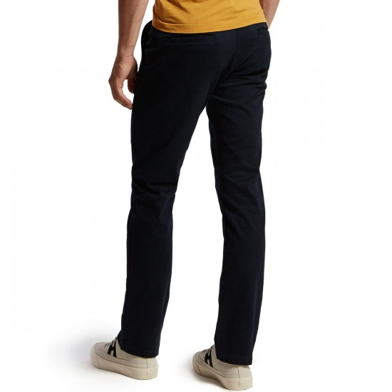 CCS Clipper Slim Fit Chino Pants - Navy - 28 - 30