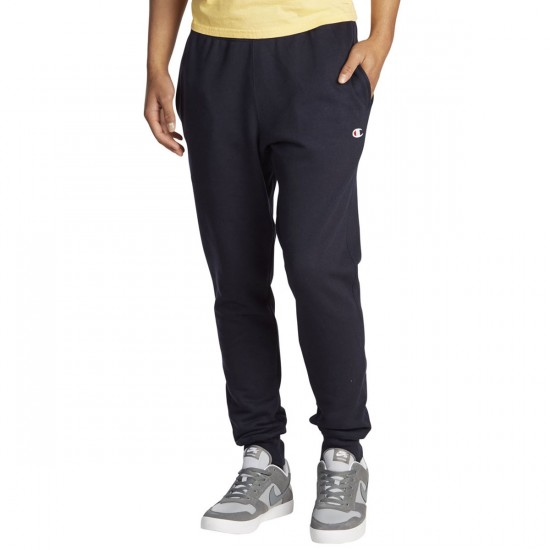 Champion Reverse Weave Graphic Jogger - Navy - LG