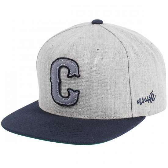 Cliche Big League Starter Hat - Grey
