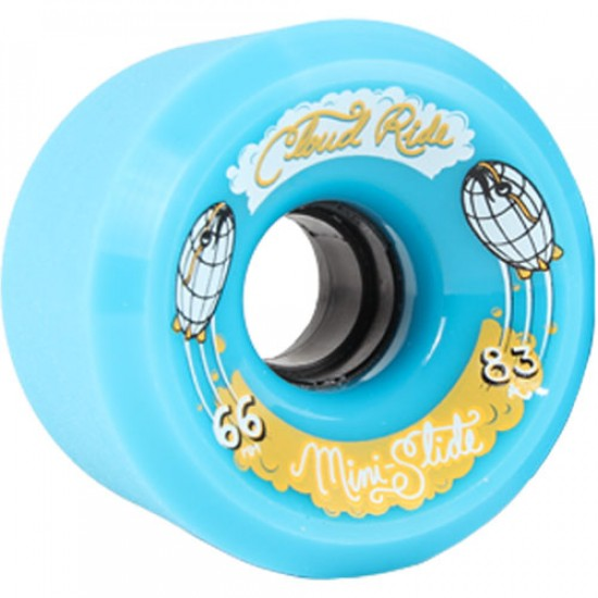 Cloud Ride Mini Slide Longboard Skateboard Wheels 66mm