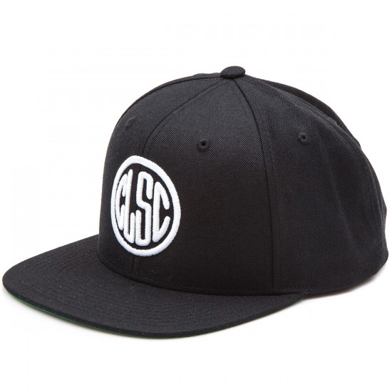 CLSC Stamp Snapback Hat - Black