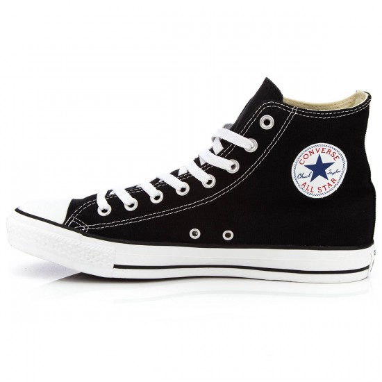 Converse Chuck Taylor All Star High Shoes - Black - 10.5