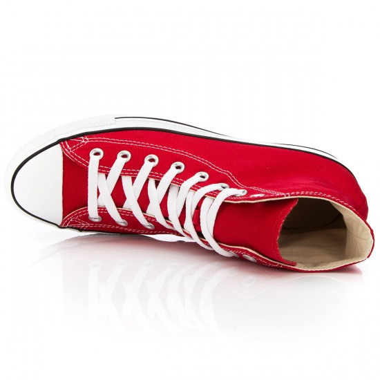 Converse Chuck Taylor All Star High Shoes - Red - 5.0