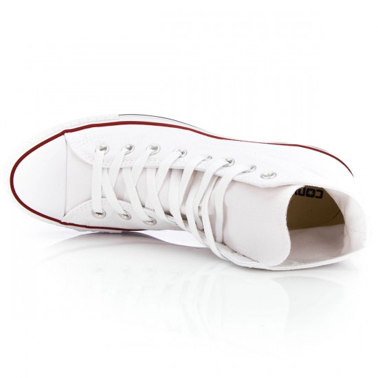 Converse Chuck Taylor All Star High Shoes - White - 10.0