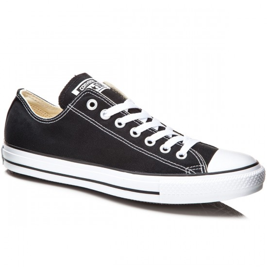 Converse Chuck Taylor All Star Lo Shoes - Black - 5.0