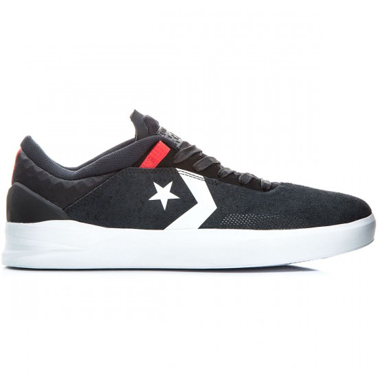 Converse Cons Metric CLS Shoes - Black/White/Red - 6.5