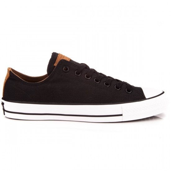 Converse CTAS Pro Canvas Shoes - Black/Rubber/Black - 6.0