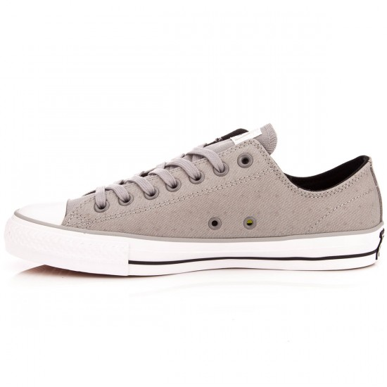 Converse CTAS Pro Canvas Shoes - Dolphin/Black/White - 7.5