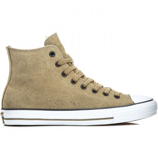 Converse CTAS Pro Hi Shoes - Chocolate/Almost Black/White - 6.0
