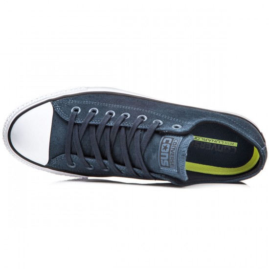 Converse CTAS Pro Shoes - Steel Can/Black/White - 6.0