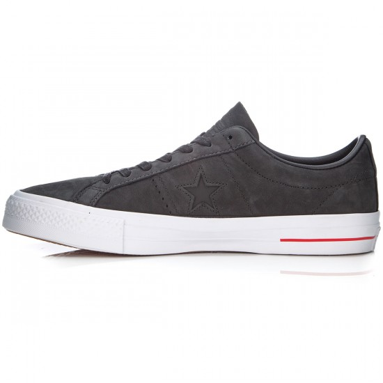 Converse One Star Pro Shoes - Black/Red/Blue - 6.0