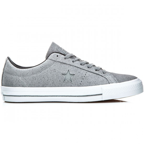 Converse One Star Pro Shoes - Dolphin/Black/White - 6.0