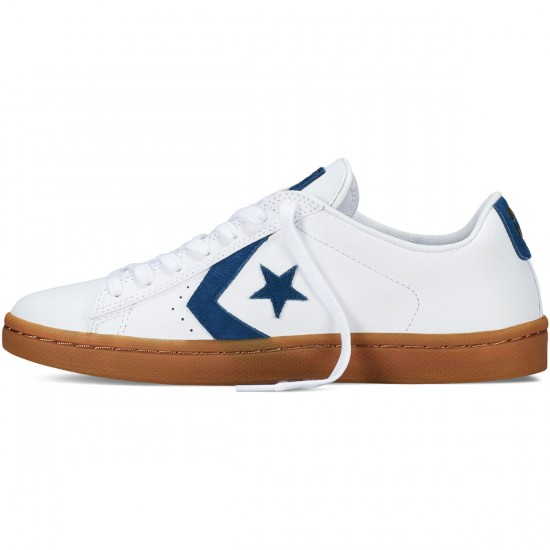 Converse Pro Leather Skate Ox Shoes - White - 9.0