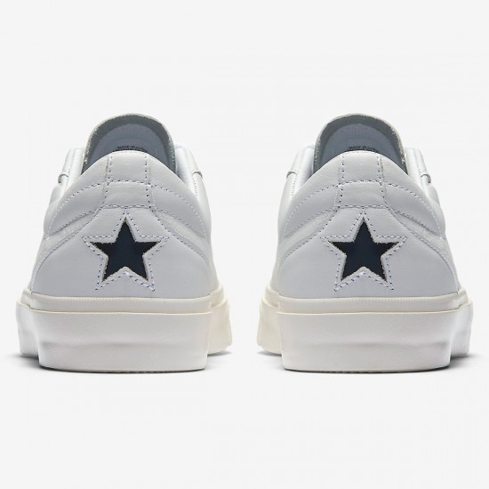 Converse Sage Elsesser One Star CC OX Premium Shoes - White/White/Obsidian - 8.0