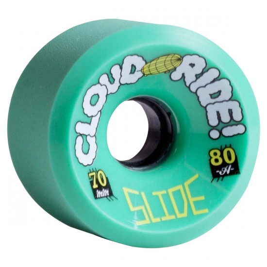 Cloud Ride Slide Longboard Wheels 70mm