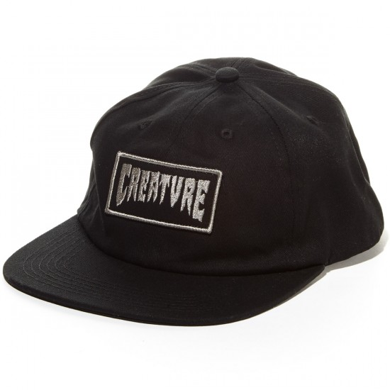 Creature Corpocorpse Snapback Hat - Black