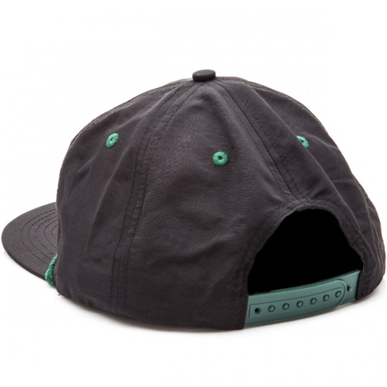 Creature Swim Club Adjustable Snapback Hat - Black