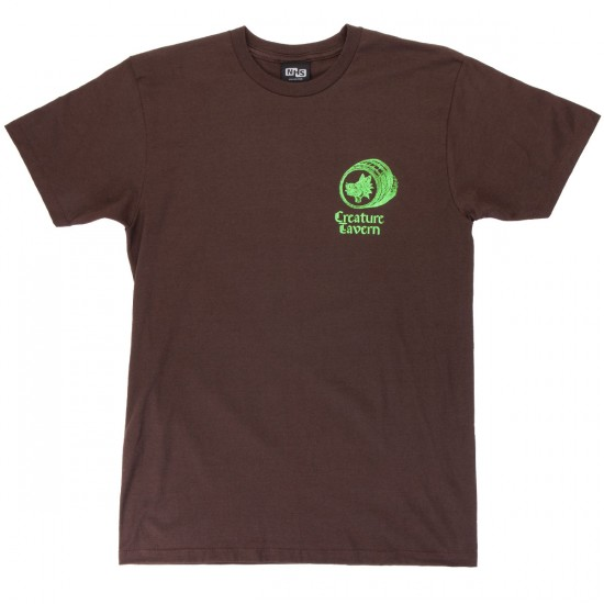 Creature Tavern T-Shirt - Dark Chocolate
