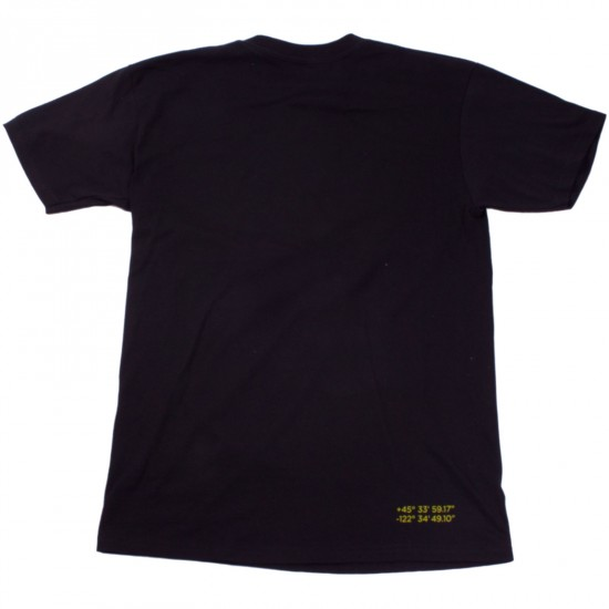 Daddies Board Shop Slime Logo T-Shirt - Black