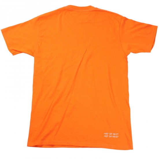 Daddies Board Shop Stock T-Shirt - Orange