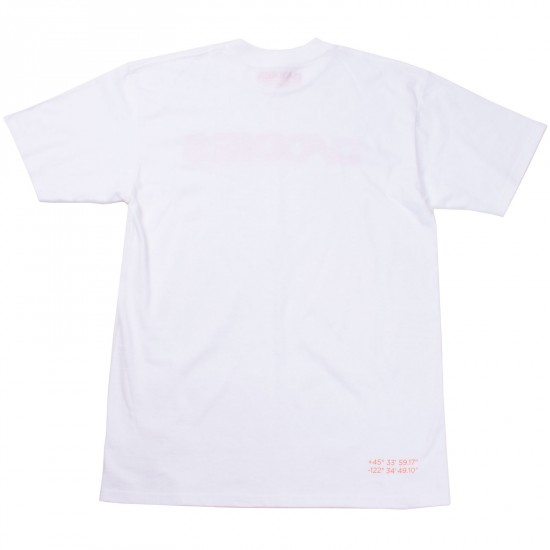 Daddies Board Shop Stock T-Shirt - White