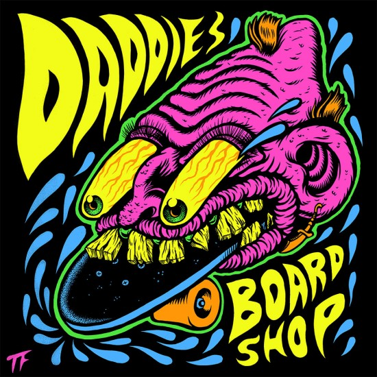 Daddies Board Shop Sticker of the Month - May 2015