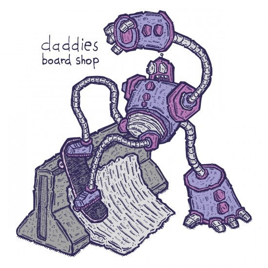Daddies Board Shop Sticker of the Month