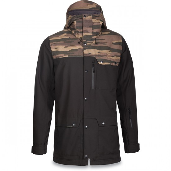 Dakine Wyeast Snowboard Jacket - Black/Field Camo