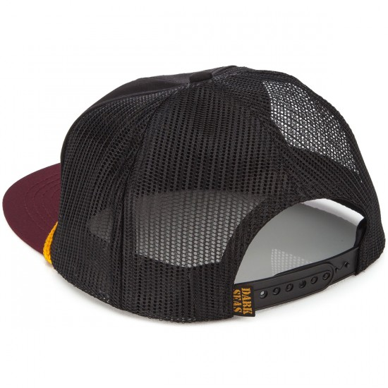 Dark Seas Hammock Hat - Black