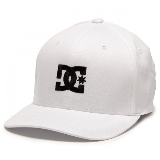 DC Cap Star Hat - White