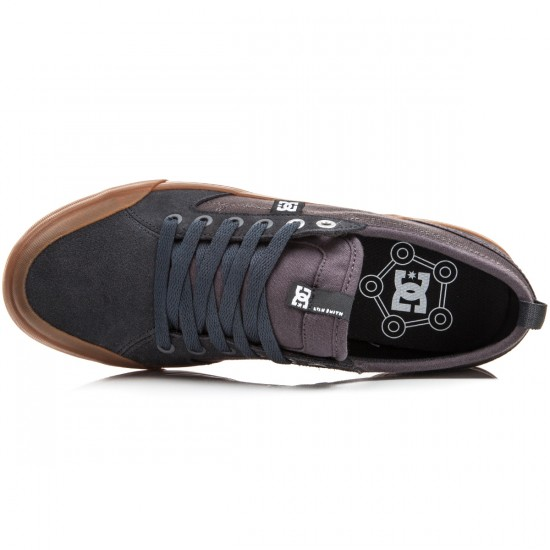 DC Evan Smith S Shoes - Grey/Gum - 13.0