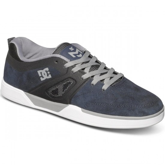 DC Matt Miller S Shoes - Navy/Grey - 12.0