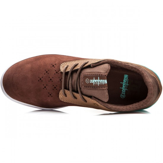 DC Mikey Taylor 2  Shoes - Brown/Brown/Blue - 6.0