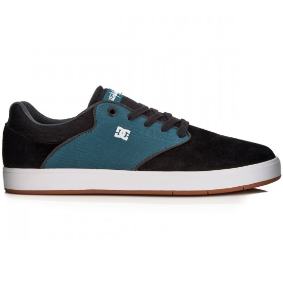 DC Mikey Taylor Shoes - Black/Sea - 13.0