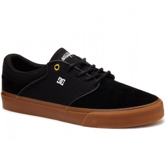DC Mikey Taylor Vulc Shoes - Black/Gum - 8.0
