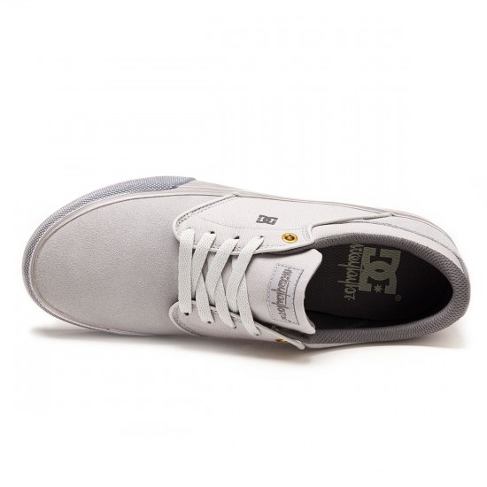 DC Mikey Taylor Vulc Shoes - Light Grey - 8.0