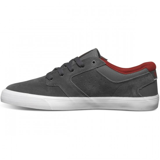 DC Nyjah Vulc Shoes - Dark Shadow - 8.5