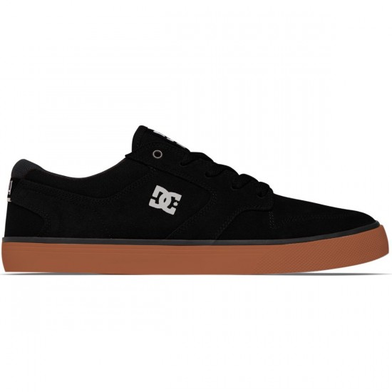 DC Nyjah Vulc S Shoes - Black/Gum - 6.0