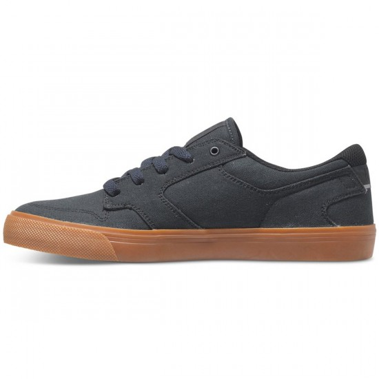DC Nyjah Vulc TX Shoes - Grey/Gum - 13.0