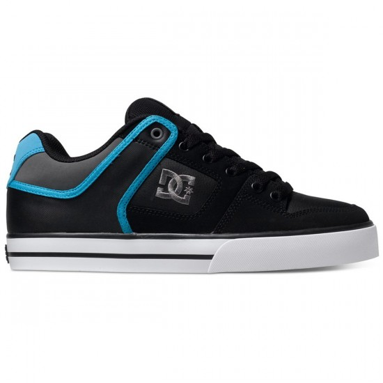 DC Pure Shoes - Black/Grey/Blue - 14.0