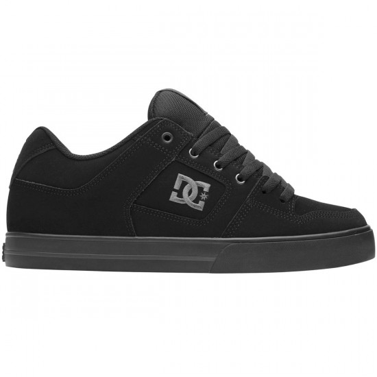 DC Pure Shoes - Black/Pirate Black - 7.0