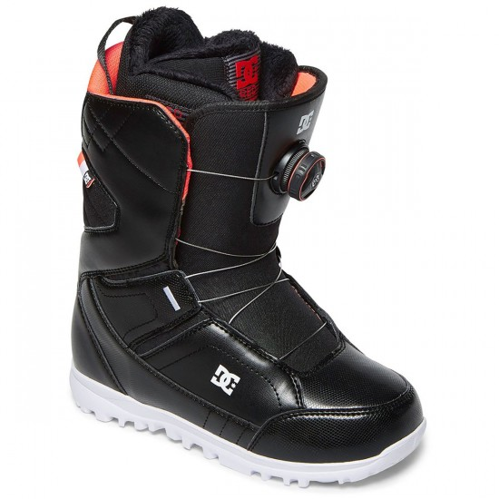 DC Search Womens Snowboard Boots 2018 - Black